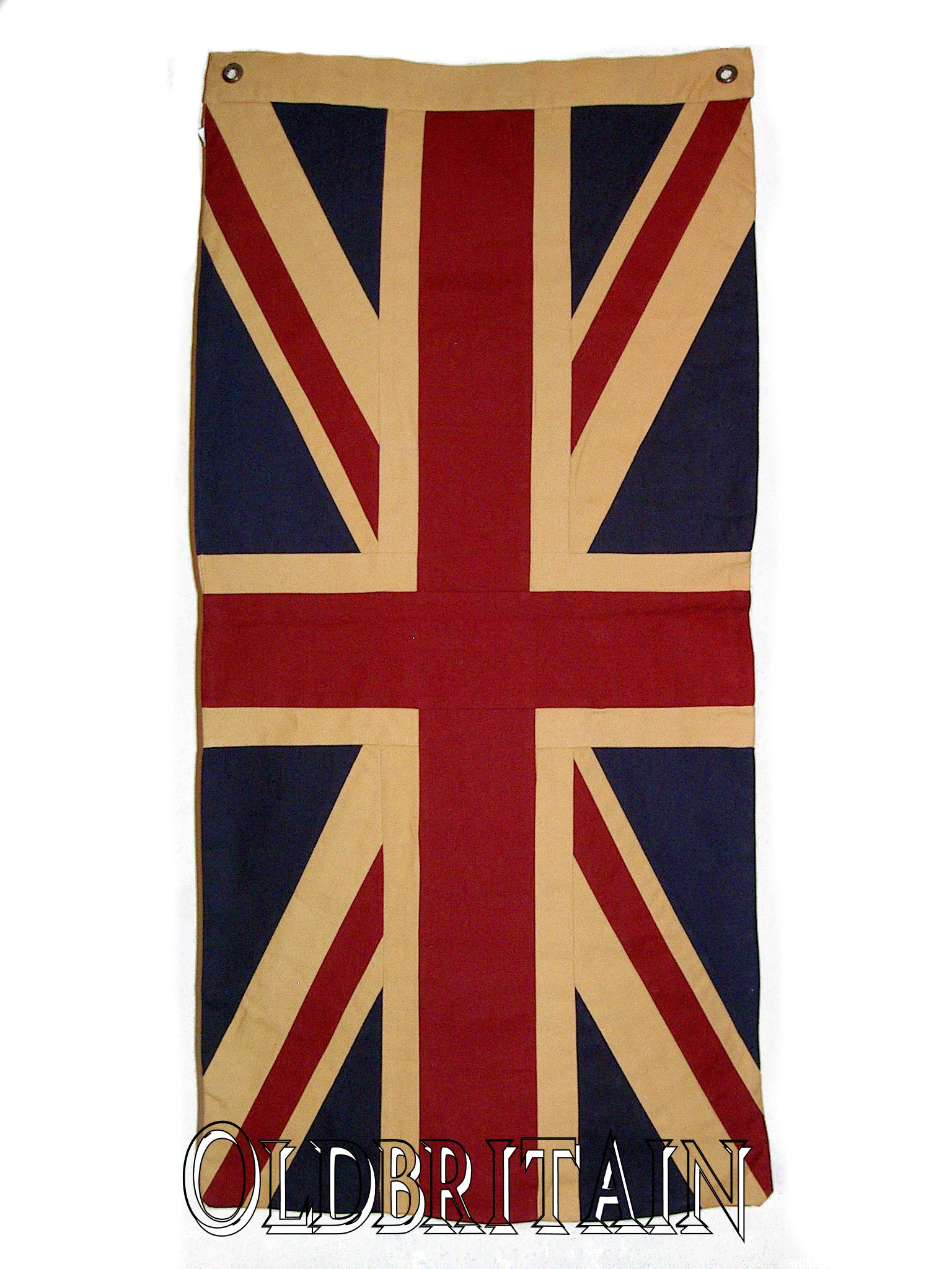 Vintage british flag cotton double sided for Ohrensessel union jack