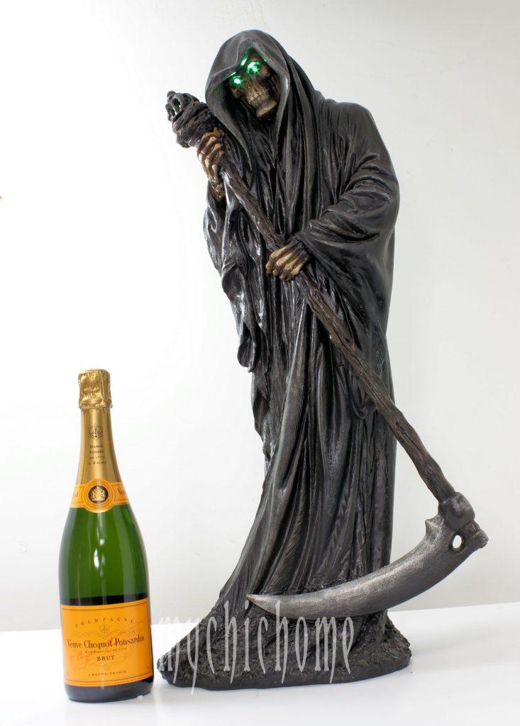 Grim Reaper Statue Death Sculpture Model Ornament